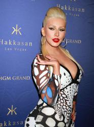 Christina Aguilera - Two Year Anniversary of Hakkasan Nightclub (4/17/15)