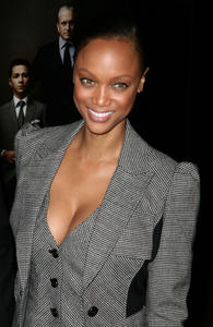 Tyra Banks @ 'Wall Street: Money Never Sleeps' Premiere in NY