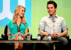 Бритт Робертсон, фото 135. Britt Robertson 2011 Summer TCA - The Secret Circle panel in Beverly Hills - August 4 2011, foto 135