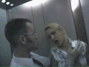 Euro Blonde got Rape in the Elevator